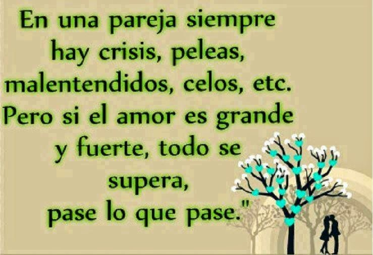 En Una Pareja Siempre Hay Crisis Cartas De Amor Y Pasión