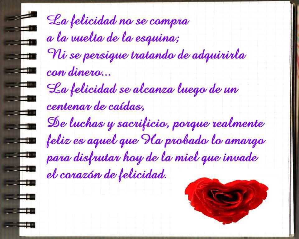 Frases de felicidad,alcanza,felicidad,luchas,sacrificio,disfrutar,corazón.