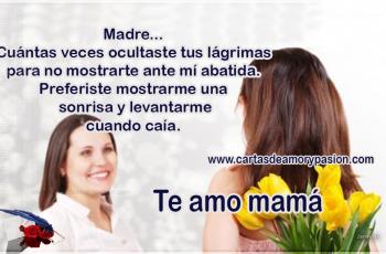 Carta para una madre soltera - Cartas de amor para mamá