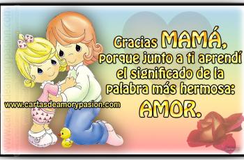 Carta para mi madre - Cartas de amor para mamá