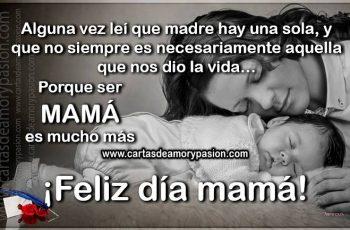 Madre hay una sola - Cartas para dedicar a mamá